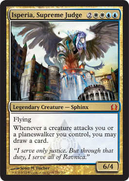 Isperia,Supreme Judge