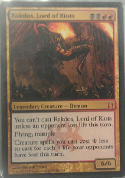 Rakdos, Lord of Rios