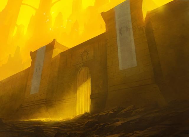 ボロスのギルド門