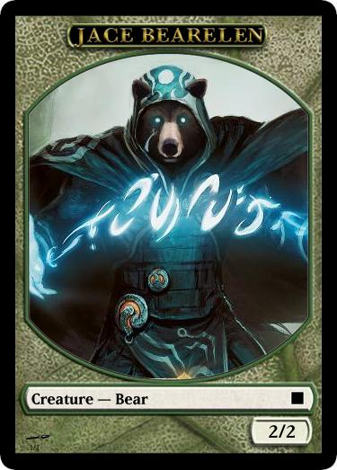 精神を刻む者、ジェイス風熊