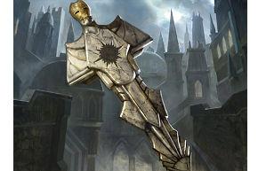 ギルド門侵犯のギルド門と魔鍵のイラスト