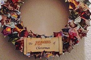 クリスマスツリーを彩るマジック:ザ ギャザリング