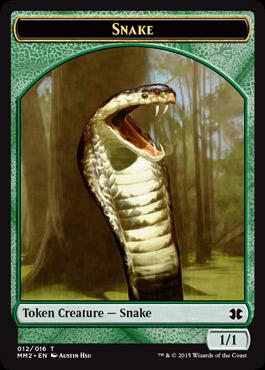 蛇トークン