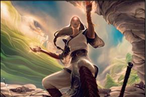 《魂火の大導師》が出来上がるまでの画像がかっこいい。