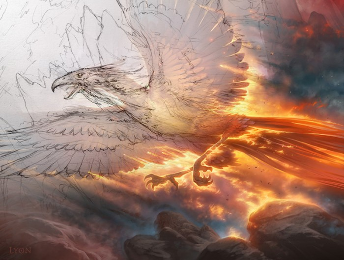 炎跡のフェニックス