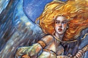 【From the Vault: Angels】レベッカ氏による《セラの天使》が公開