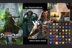 マジックパズルクエスト:MTG Puzzle QuestアメリカApp Store and Google Playにて配信開始!