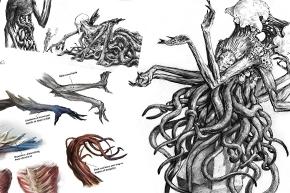 【MTGアート】ゼンディカーコンセプトアートまとめBFZ-OGW《エルドラージ》編