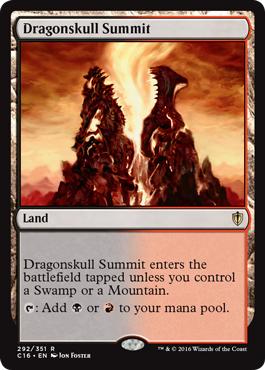 カード名:竜髑髏の山頂 再録: M13 M12 M11 M10