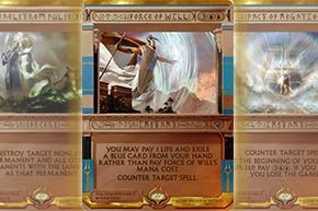 【アモンケット】マスターピース:《謎めいた命令/Cryptic Command》や《意志の力/Force of Will》など公開に!