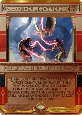 稲妻の連鎖/Chain Lightning